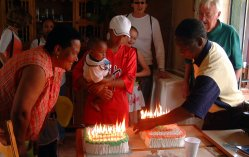 Sandra recently celebrated her fiftieth birthday  surroundedby family    Sandra Laing Children